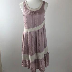 Anthropologie Maeve Sleeveless Swing Dress